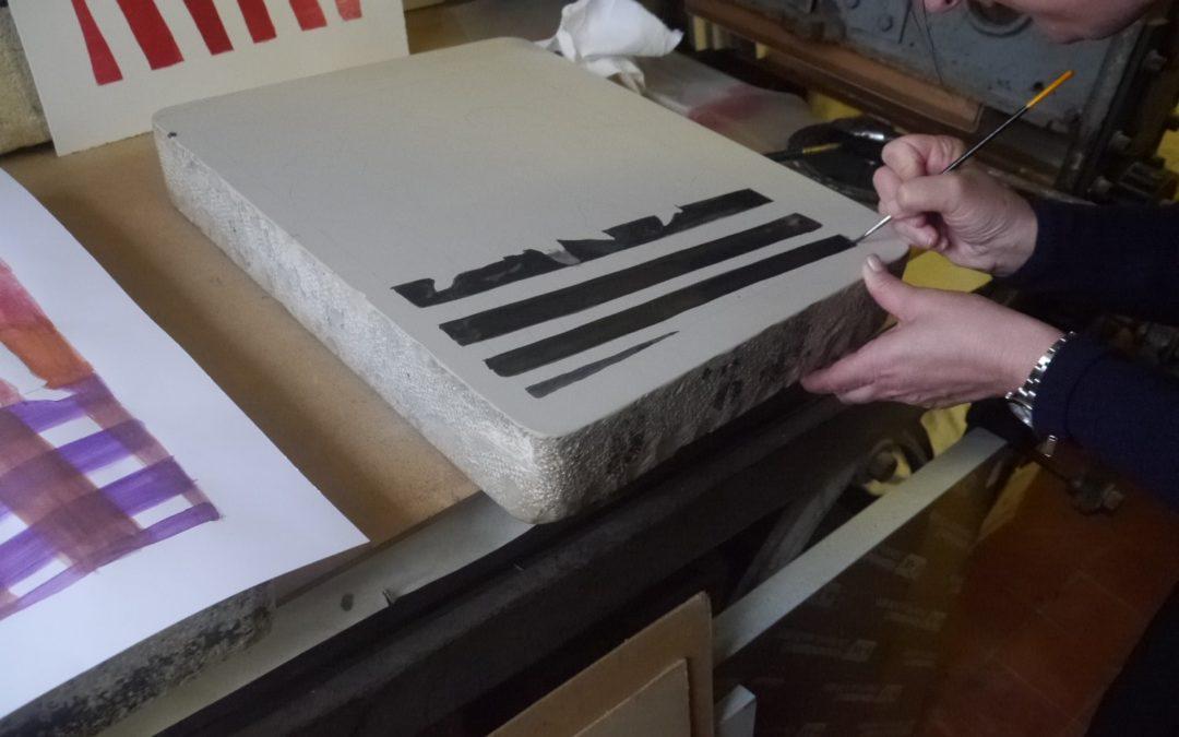 Wichtige Drucktechniken: die Lithografie Teil 2