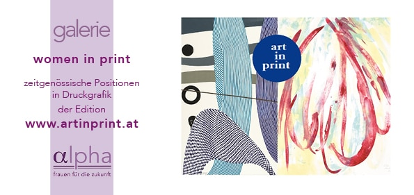 Online Ausstellung women in print eröffnet
